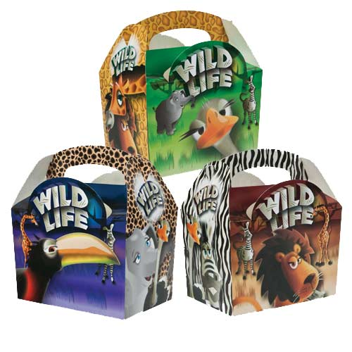 Wild Life Meal Boxes