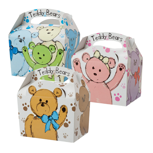 Teddy Bears Meal Boxes