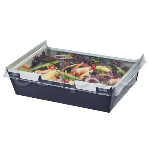 Trays With Attached Lid