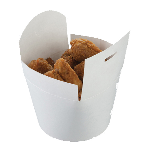04FT4 850ml White Food Tub