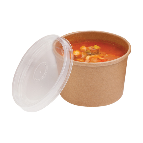 04S8CPK 225ml Microwaveable Soup Cup and PP Lid