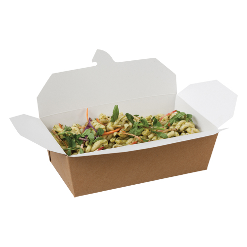 04OR2CP 985ml Compostable Multi-Food Box