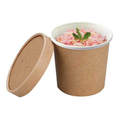 04S12SCC 350ml Compostable Souper Pot