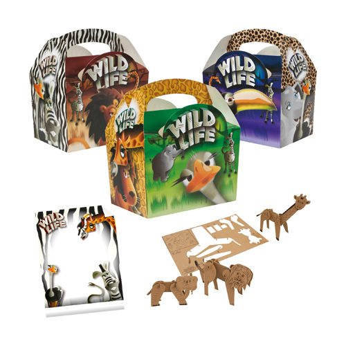 Wild Life Meal Box Kit